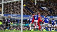Honours were even in a sensational Merseyside derby, as Liverpool drew 3-3 with Everton at Goodison Park.