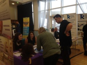 Various stalls welcomed young disabled people to help shape their careers. Pics by Gemma Sherlock