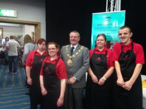 Wirral Mayor with Best Bites team. Pics by Gemma Sherlock