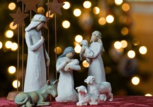 Nativity scene © Jeff Weese / Flickr / Creative Commons