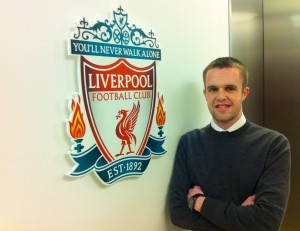 Joel Richards at Liverpool FC TV
