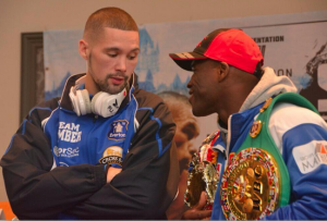 Bellew promised fans he would take home Stevensons WBC light-heavyweight title, but came up short in Quebec © -Twitter.com/TonyBellew