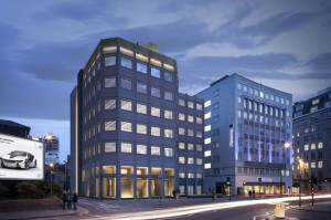 CGI image of what Churchill House will look like once complete