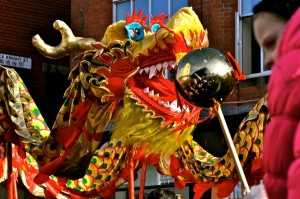 Chinese New Year in Liverpool. Pic by Laura Ryder