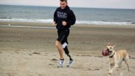 A former marine from Liverpool hopes to beat the world record for the fastest 10k run by a single-leg amputee.