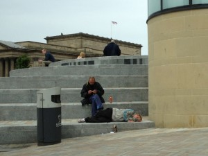 Help is being offered to those struggling on the streets of Liverpool © Rann Lea