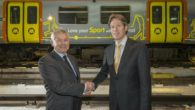 Two new-look Merseyrail trains have been launched, with designs reflecting the sights that Liverpool has to offer.