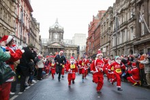 Liverpool's annual Santa Dash festive fun run has been nominated for a national award.