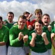 The Alumni side booked their place in the JMU Journalism World Cup Final with a 3-0 victory against Level 2.