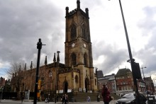 A grant has been awarded of almost £75,000 to help preserve the iconic 'Bombed-out Church', St Luke's.