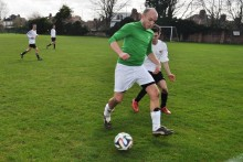 A 24-hour football match in aid of Marie Curie will be played by NHS staff members and their friends.