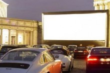 A drive-in cinema is coming to the Liverpool waterfront next month, with the promise of the biggest digital, open-air screen in the UK.