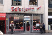 The American-themed restaurant, Ed's Easy Diner, has expanded its chain by opening a new branch in Liverpool One this week.