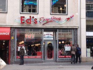 Ed's Easy Diner has opened today on Lord Street