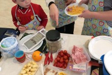 A new initiative has been launched to encourage people to cook on a low budget and take interest in their food.