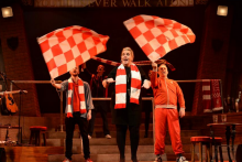 'You'll Never Walk Alone' Liverpool FC history show at the Royal Court... reviewed by an Everton fan.