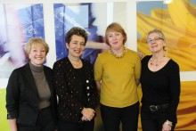 Female journalists and academics gathered at Redmonds to discuss the challenges facing women in the media.