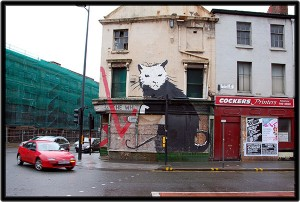 Banksy's 'Liverpool Rat' will be auctioned in April this year ©PaulStevenson/CreativeCommons/Flickr