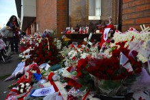 The city of Liverpool came to a halt in silent tribute to honour the 96 LFC fans who lost their lives at Hillsborough.