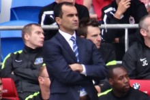 Roberto Martinez has been rewarded for his record-breaking first season as Everton manager.