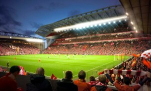 Proposed stadium interior design of the redeveloped Anfield © Liverpool FC