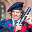 Local comedian John Bishop has accepted an Honorary Fellowship from Liverpool John Moores University.