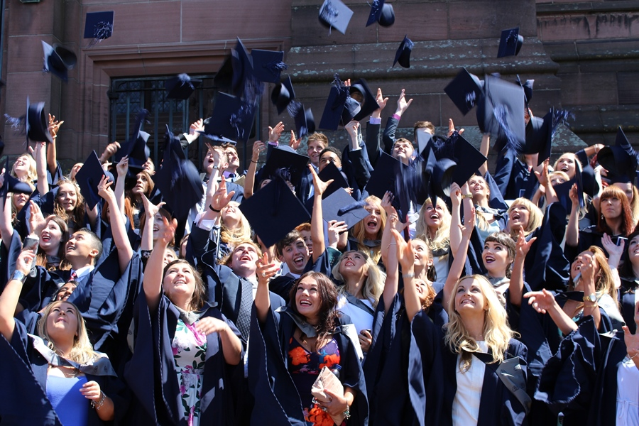 Celebration time for the Class of 2014