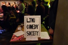 LJMU's brand new comedy society held its debut, sold-out freshers' gig, with laughs galore for those who got tickets.