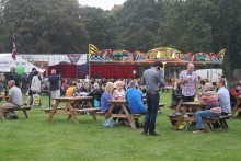 Record numbers flocked to Sefton Park for the Liverpool Food and Drink Festival, with around 60,000 attending.