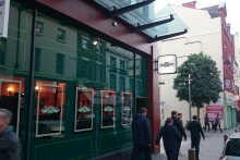 A new branch of the once-fictional coffee house, Central Perk, has opened in Liverpool.