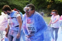 Claire House Children's Hospice hosted its 'Splash Dash' event in Sefton Park, raising more than £100,000.