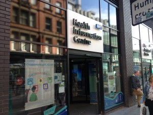 The Beat's new health centre, Hanover Street. Pic © JMU Journalism