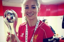 Liverpool Ladies retained the Super League in dramatic style. Captain Gemma Bonner talks to JMU Journalism.