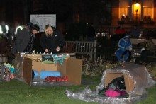 The head of Liverpool's Whitechapel Centre for the homeless speaks of the challenges his charity is facing as Christmas approaches.