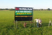 A campaign group has called upon locals to object to a plans to develop over 100 acres of Green Belt land north of Liverpool.