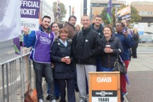 Thousands of NHS workers walked out across Merseyside in a four-hour protest as part of an ongoing pay dispute.