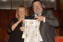"Ricky Tomlinson tells JMU Journalism he is ""overwhelmed"" after being awarded the 'Freedom of Liverpool'."