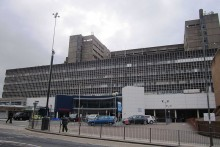 The Royal Liverpool University Hospital wants views on the issue of smoking in its grounds.
