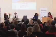 A discussion about the the representation of women in British politics was held at Blackburne House.