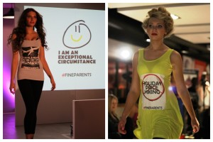 Slogan vests at Liverpool Fashion Week. Pics by Josie O'Sullivan © JMU Journalism