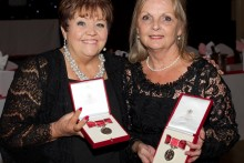 British Empire Medals have been awarded to two women for their services to a cancer support group.