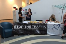 A campaign to tackle human trafficking was launched during a special event at the Museum of Liverpool.