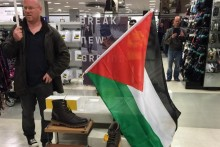 High street stores have been the target of Pro-Palestinian protests in Liverpool over alleged links with Israel.