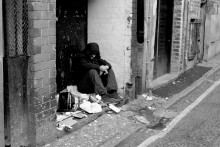 Locals are being advised to donate to charities instead of giving money directly to homeless people on the streets.
