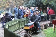 Volunteers at a miniature railway in Calderstones Park fear that the site will be used for a housing development.