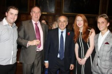 Students and staff from JMU Journalism got the chance to meet LJMU Chancellor Sir Brian Leveson in London.