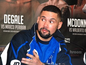 Liverpool boxer Tony Bellew. Pic by Adam Jones © JMU Journalism