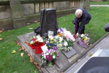 Victims of road collisions in Merseyside were remembered in a moving memorial service in St John's Gardens.