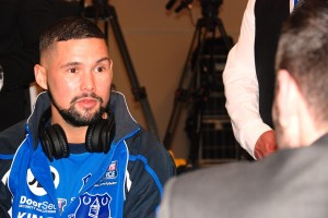 Tony Bellew talks to JMU Journalism's Sean Purvis ahead of the Nathan Cleverly fight. Pic by Adam Jones © JMU Journalism