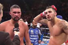 Liverpool's Tony Bellew beat arch rival Nathan Cleverly with a split-decision points victory at cruiserweight in their Echo Arena rematch.